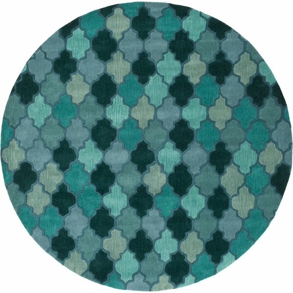 Billmont Fores Green Geometric Area Rug by Alcott Hill