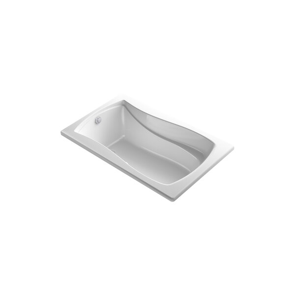 Mariposa Bubblemassage 60 x 36 Soaking Bathtub by Kohler