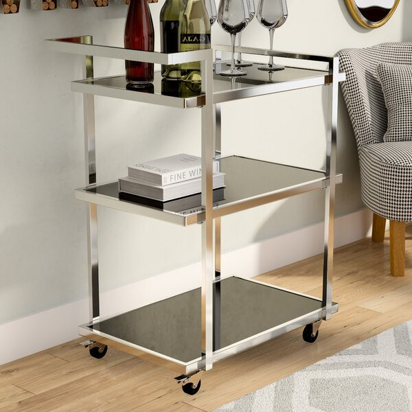 Waring Bar Cart by Orren Ellis Orren Ellis