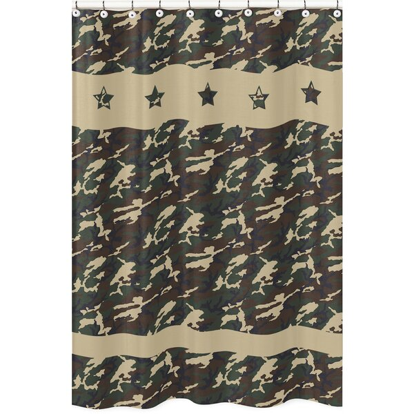 Camo Shower Curtain by Sweet Jojo Designs