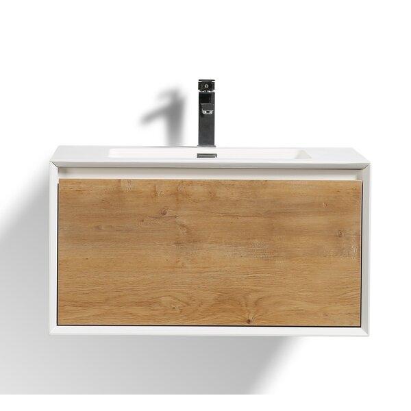 Murdock 30 Wall-Mounted Single Bathroom Vanity Set by Union Rustic