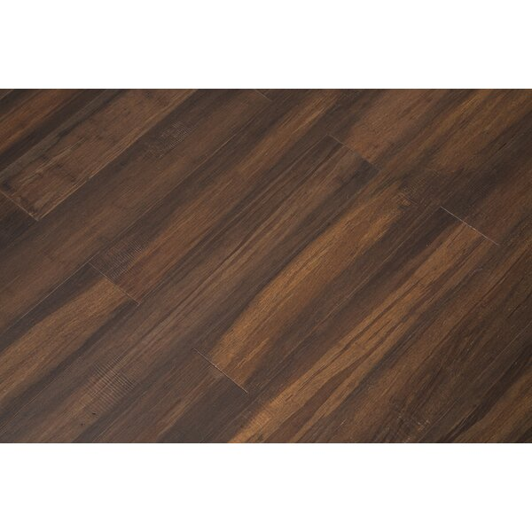 5 Engineered Bamboo Flooring in Onyx by Bamboo Hardwoods