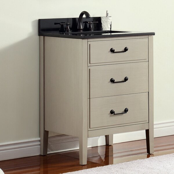 Tharp 25 Single Modern Bathroom Vanity Set by August Grove
