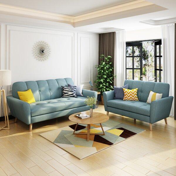 Cavitt 2 Piece Living Room Set By George Oliver Find