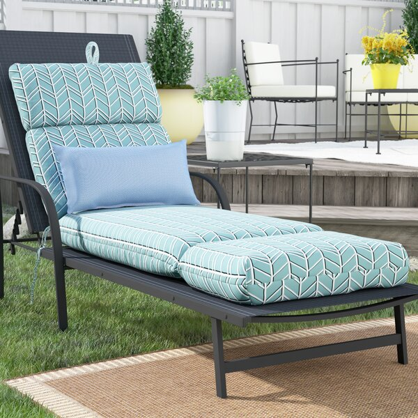 Wilfong Indoor/Outdoor Chaise Lounge Cushion by Winston Porter