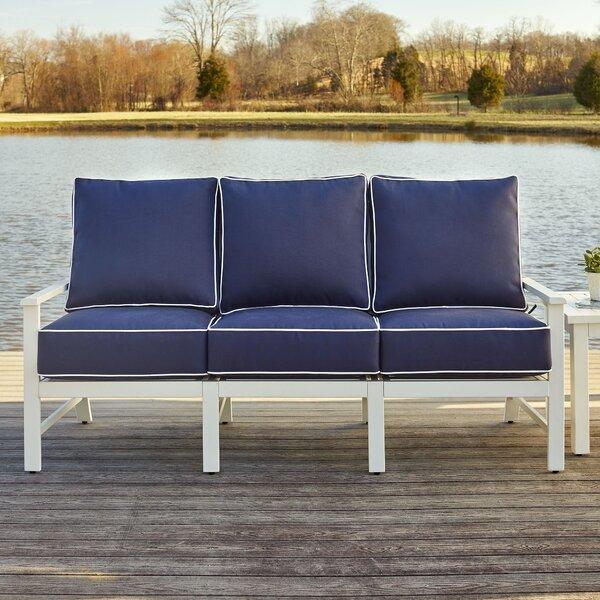 Riveria 4 Piece Sunbrella Sofa Set with Cushions by Birch Lane™