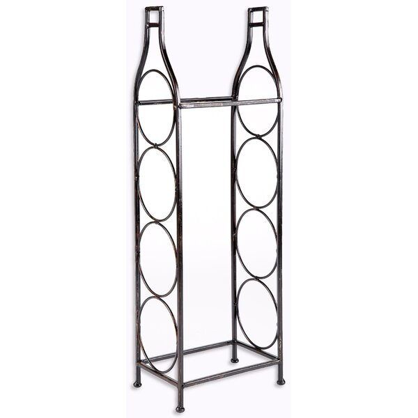 4 Bottle Floor Wine Bottle Rack by Home Essentials and Beyond Home Essentials and Beyond
