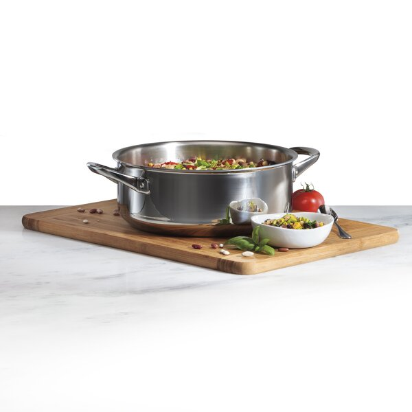 6 Qt. Stainless Steel Dutch Oven by Wolf Gourmet