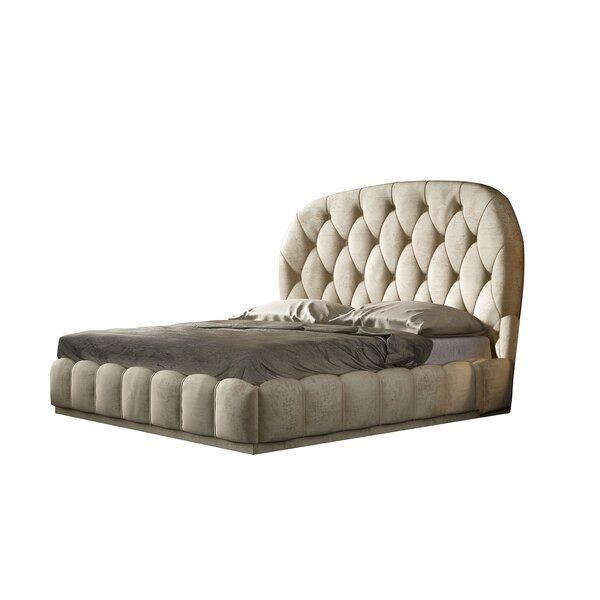 Jerri Upholstered Standard Bed By Everly Quinn Best