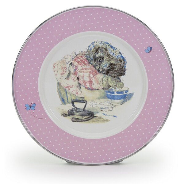 Chesterle Mrs Tiggywinkle 8.5 Salad Plate (Set of 4) by Zoomie Kids