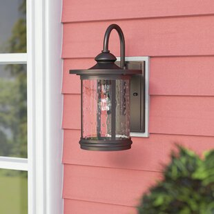 Best Reviews Ashendon 1-Light Outdoor Wall Lantern By Three Posts