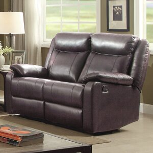 Leo Minor Double Reclining Loveseat by Latitude Run