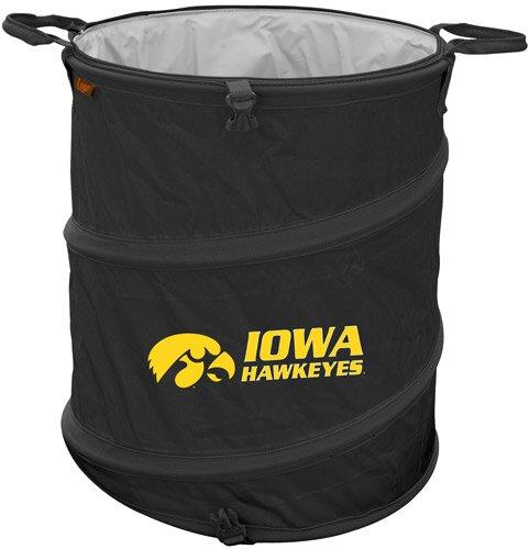 Collegiate Trash Can - Iowa by Logo Brands