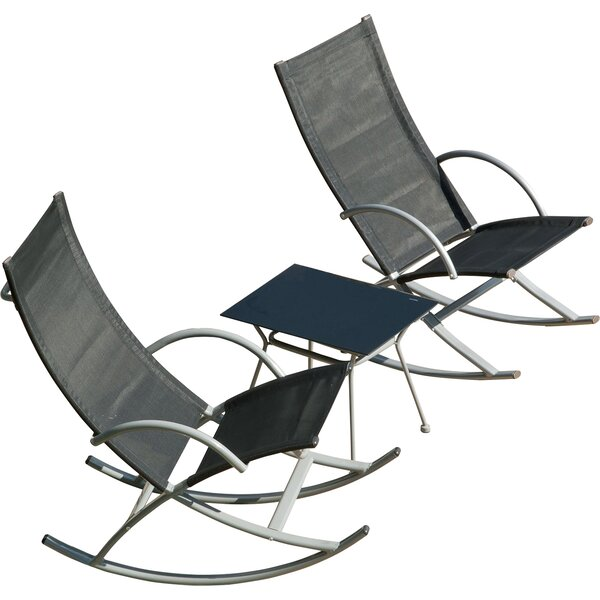Gengler 3 Piece Conversation Set by Zipcode Design