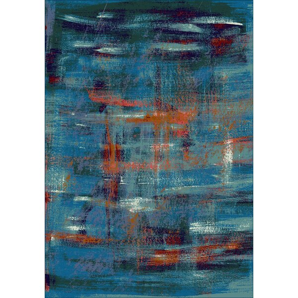 Fuqua Blue Area Rug by Ivy Bronx