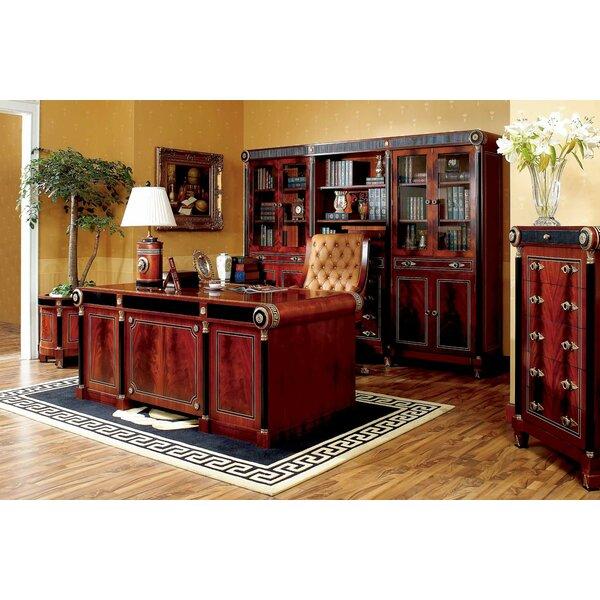 Empire Library Bookcase by Astoria Grand