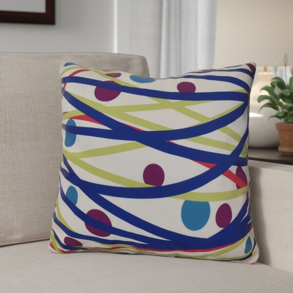 Doodle Decorations Throw Pillow by The Holiday Aisle