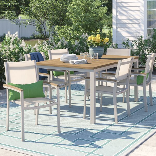 Caspian 7 Piece Dining Set (Set of 7) by Sol 72 Outdoor