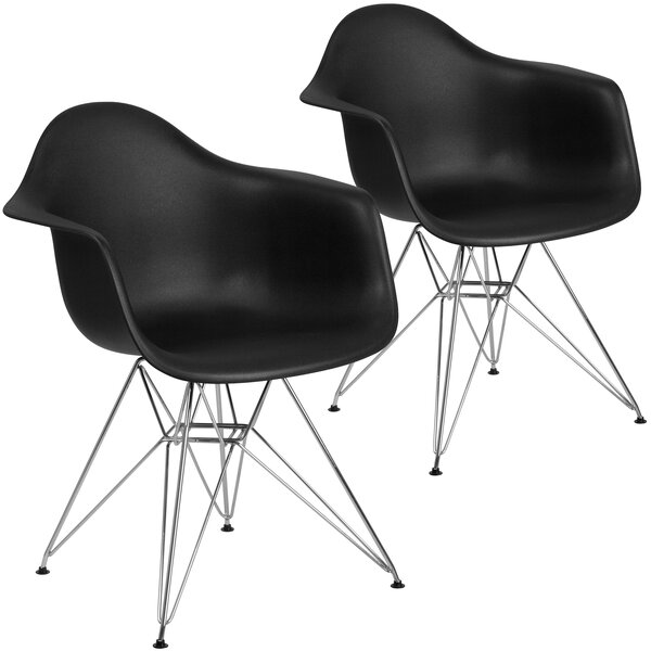 Restivo Modern Guest Chair (Set of 2) by Wrought Studio