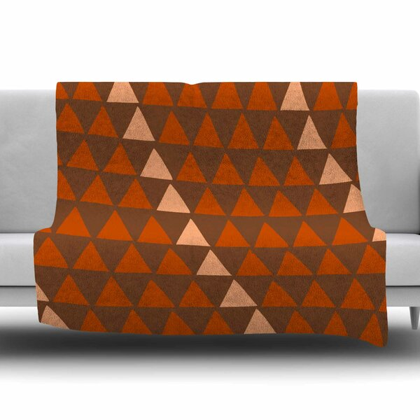 Overload Autumn by Matt Eklund Fleece Blanket by East Urban Home