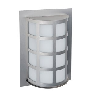 Compare prices Caufield 1-Light Outdoor Flush Mount By Latitude Run