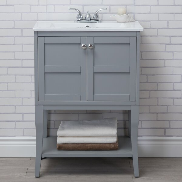 Wynkoop 24 Single Bathroom Vanity Set by Lark Manor