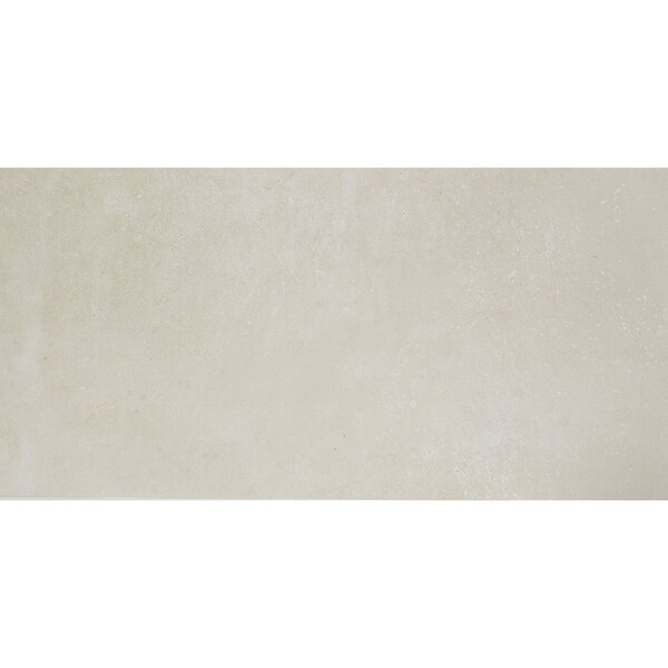Fairfield 12 x 24 Porcelain Field Tile in Cream by Itona Tile