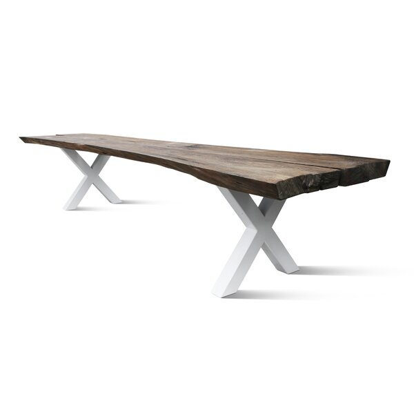 Martell Solid Wood Dining Table by Foundry Select