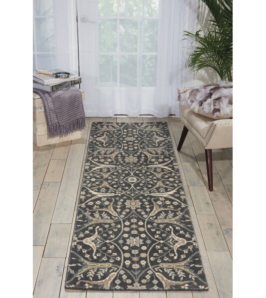Carvell Wool Graphite Area Rug