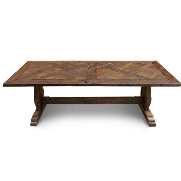 Ellar Solid Wood Dining Table by Loon Peak Loon Peak