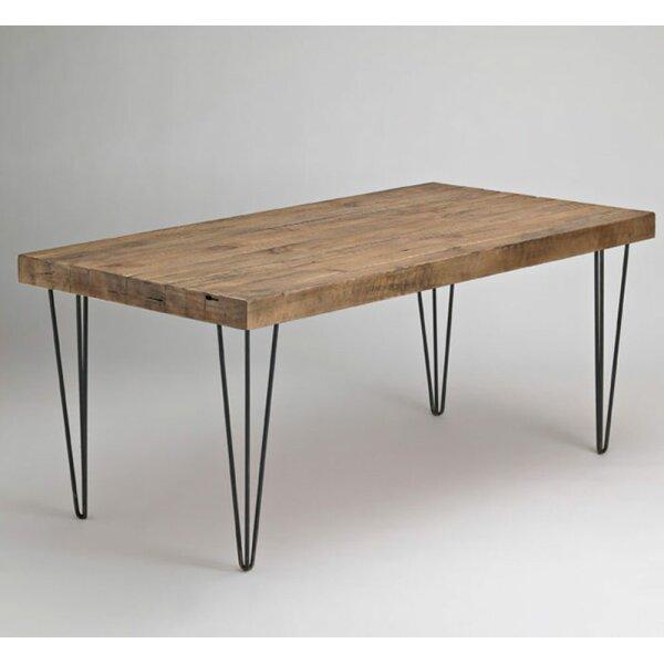 Ulises Beetlekill Pine Live Edge Dining Table by Union Rustic