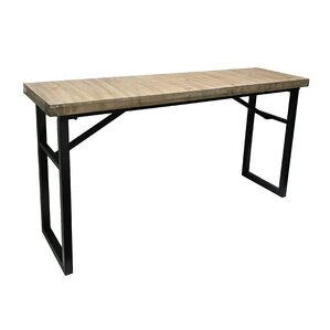 Calie Rectangle Wood Console Table by Gracie Oaks