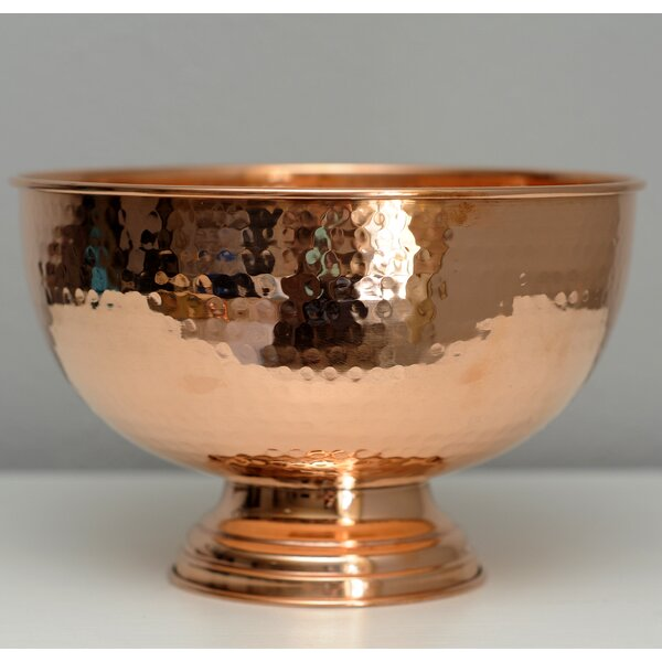 Hammer Copper Punch Bowl by Alchemade