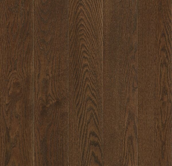 Prime Harvest 5 Solid Oak Hardwood Flooring in High Glossy Cocoa Bean by Armstrong Flooring