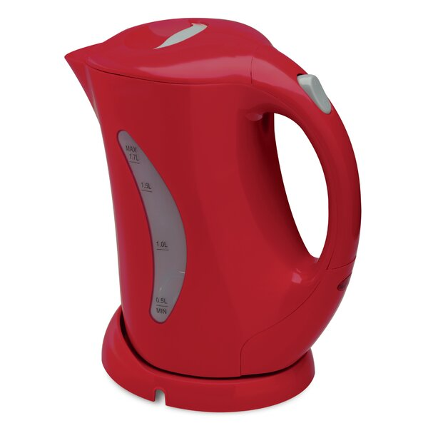 1.7 Qt. Stainless Steel Cordless Electric Tea Kettle by Salton