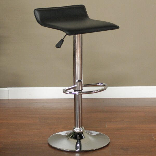 Aviator Adjustable Height Swivel Bar Stool by American Heritage