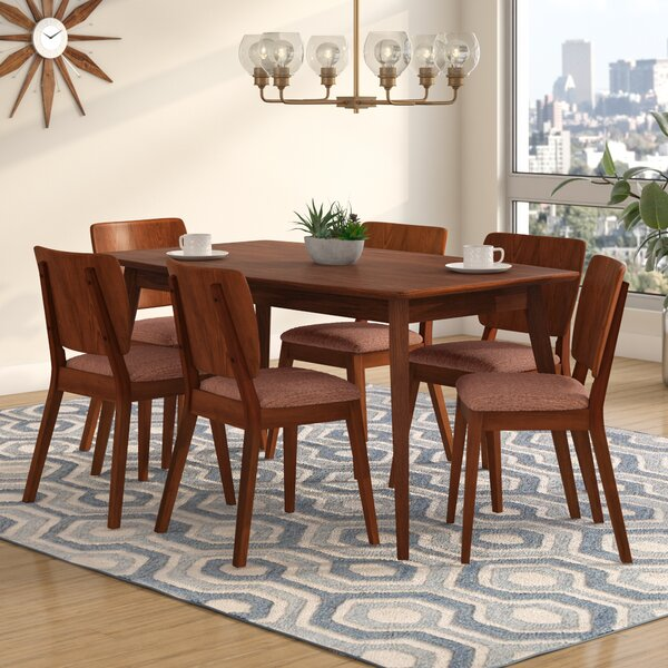 Jocelyn 7 Piece Dining Set by Langley Street