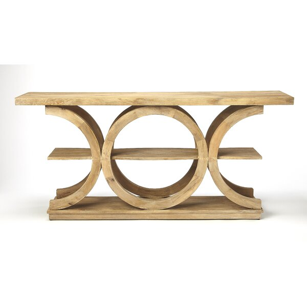 Carletta Solid Wood Console Table By Highland Dunes