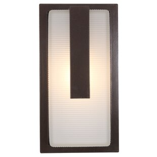Great choice 1-Light Outdoor Flush mount By Efficient Lighting