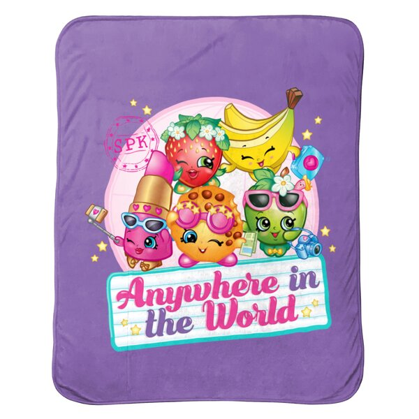 Anywhere Travel Blanket by Shopkins