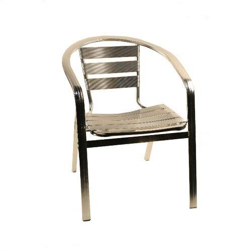Aluminum Arm Chair by Alston