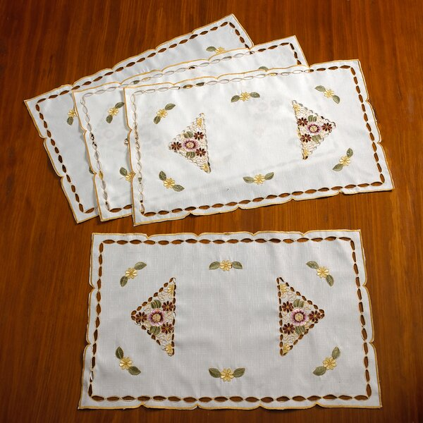 Orchid Vintage Placemat (Set of 4) by Violet Linen