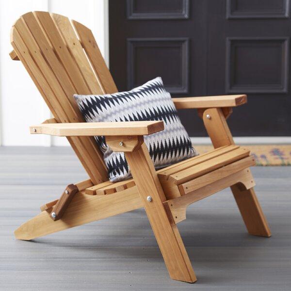 Tustin Solid Wood Folding Adirondack Chair by Loon Peak Loon Peak