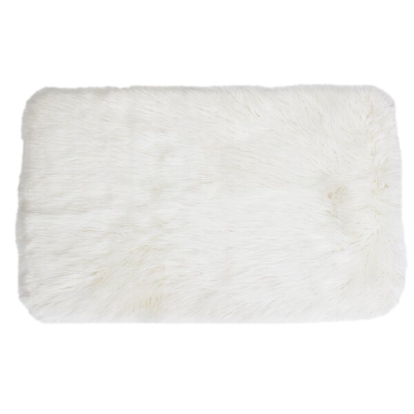 Keller Bright White Area Rug by Thro by Marlo Lorenz