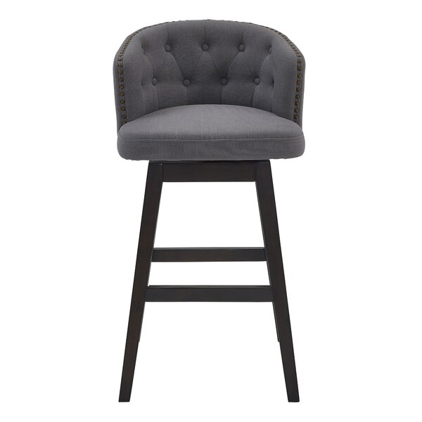 Micky 30 Swivel Bar Stool by Darby Home Co