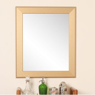 Bargain Hornell Gold Grain Wall Mirror By Charlton Home