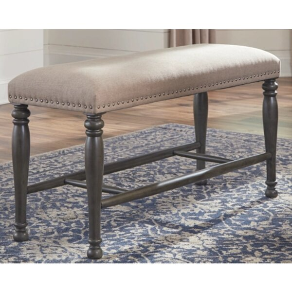 Lafontaine Upholstered Bench by Alcott Hill Alcott Hill