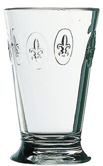 Fleur De Lys 10 oz. Crystal Cocktail Glass (Set of 6) by La Rochere