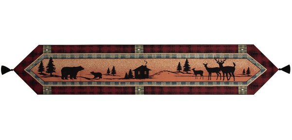 Bear Lodge Runner by Manual Woodworkers & Weavers