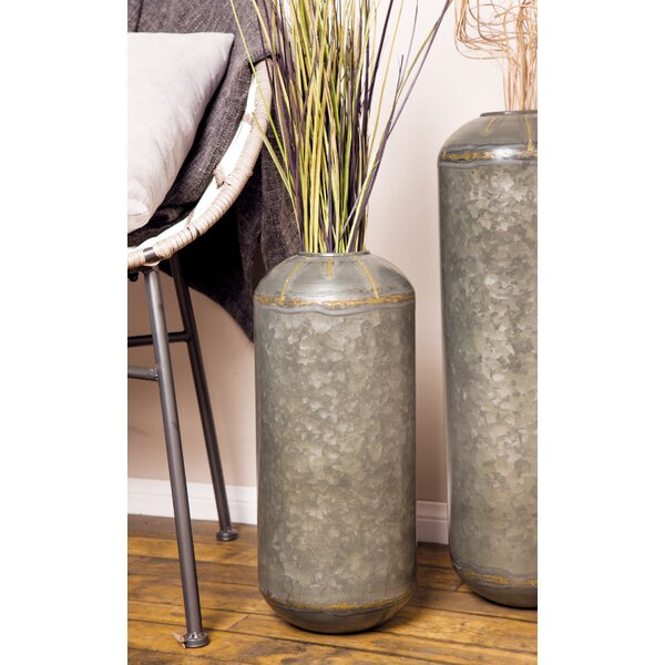 Laforge Rustic Metal Pot Planter by Williston Forge